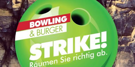 Special: Bowling & Burger in der Bowlinggrotte